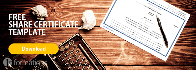 Free share certificate download