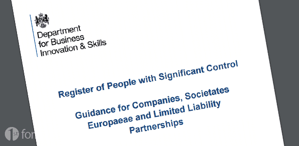 Register of Person with Significant Control