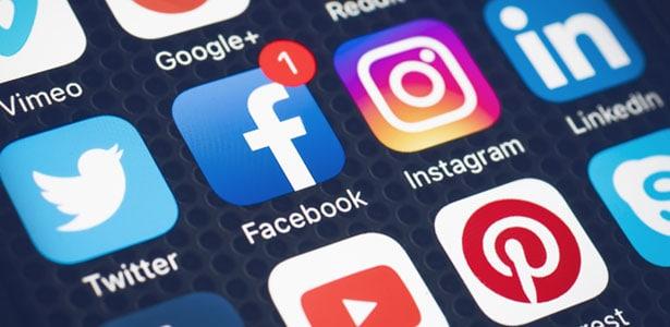 4. Social media links