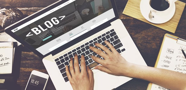 9. A company blog