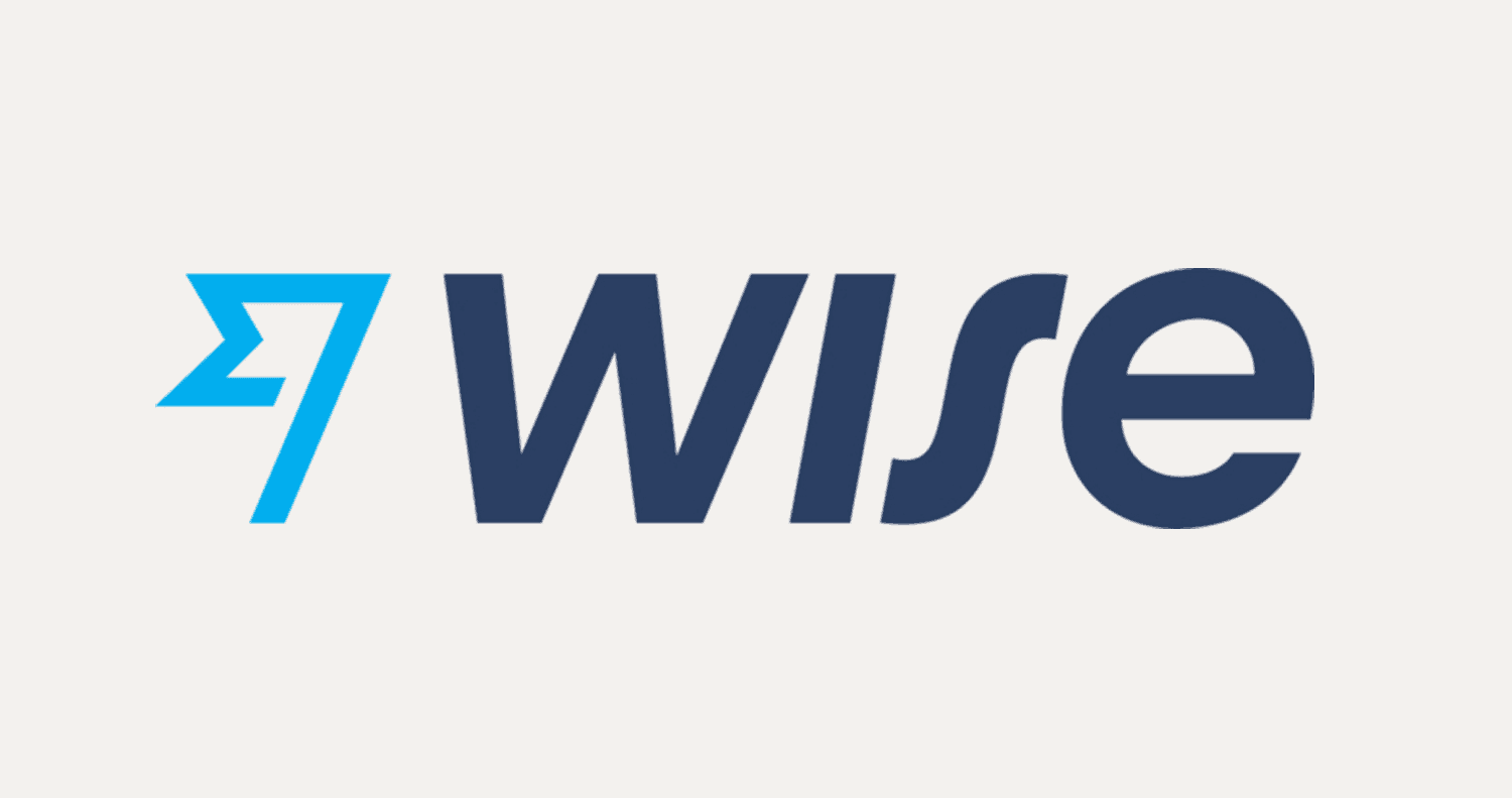 Wise logo in blue text with white background